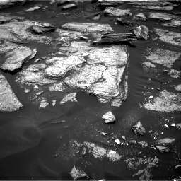 Nasa's Mars rover Curiosity acquired this image using its Right Navigation Camera on Sol 1684, at drive 2900, site number 62