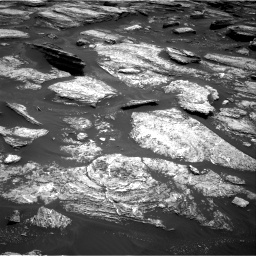 Nasa's Mars rover Curiosity acquired this image using its Right Navigation Camera on Sol 1684, at drive 2918, site number 62