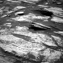 Nasa's Mars rover Curiosity acquired this image using its Right Navigation Camera on Sol 1684, at drive 2942, site number 62