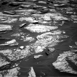 Nasa's Mars rover Curiosity acquired this image using its Right Navigation Camera on Sol 1684, at drive 2966, site number 62