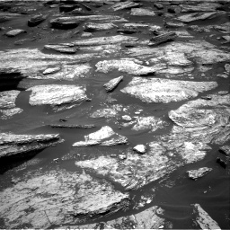 Nasa's Mars rover Curiosity acquired this image using its Right Navigation Camera on Sol 1684, at drive 2972, site number 62