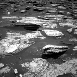 Nasa's Mars rover Curiosity acquired this image using its Right Navigation Camera on Sol 1684, at drive 2984, site number 62