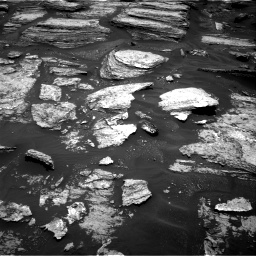 Nasa's Mars rover Curiosity acquired this image using its Right Navigation Camera on Sol 1684, at drive 3014, site number 62