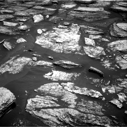 Nasa's Mars rover Curiosity acquired this image using its Right Navigation Camera on Sol 1684, at drive 3026, site number 62