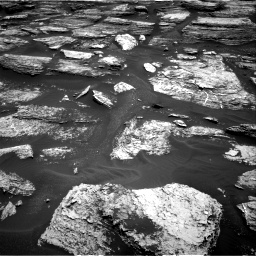 Nasa's Mars rover Curiosity acquired this image using its Right Navigation Camera on Sol 1684, at drive 3038, site number 62