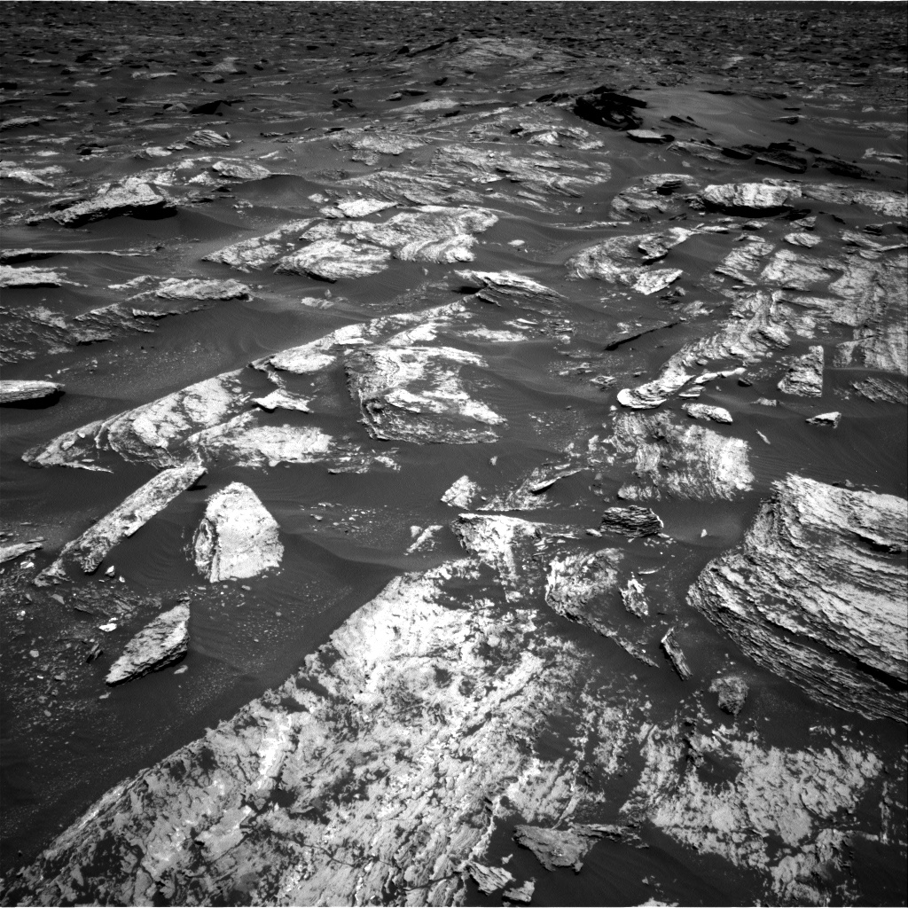 Nasa's Mars rover Curiosity acquired this image using its Right Navigation Camera on Sol 1684, at drive 3050, site number 62