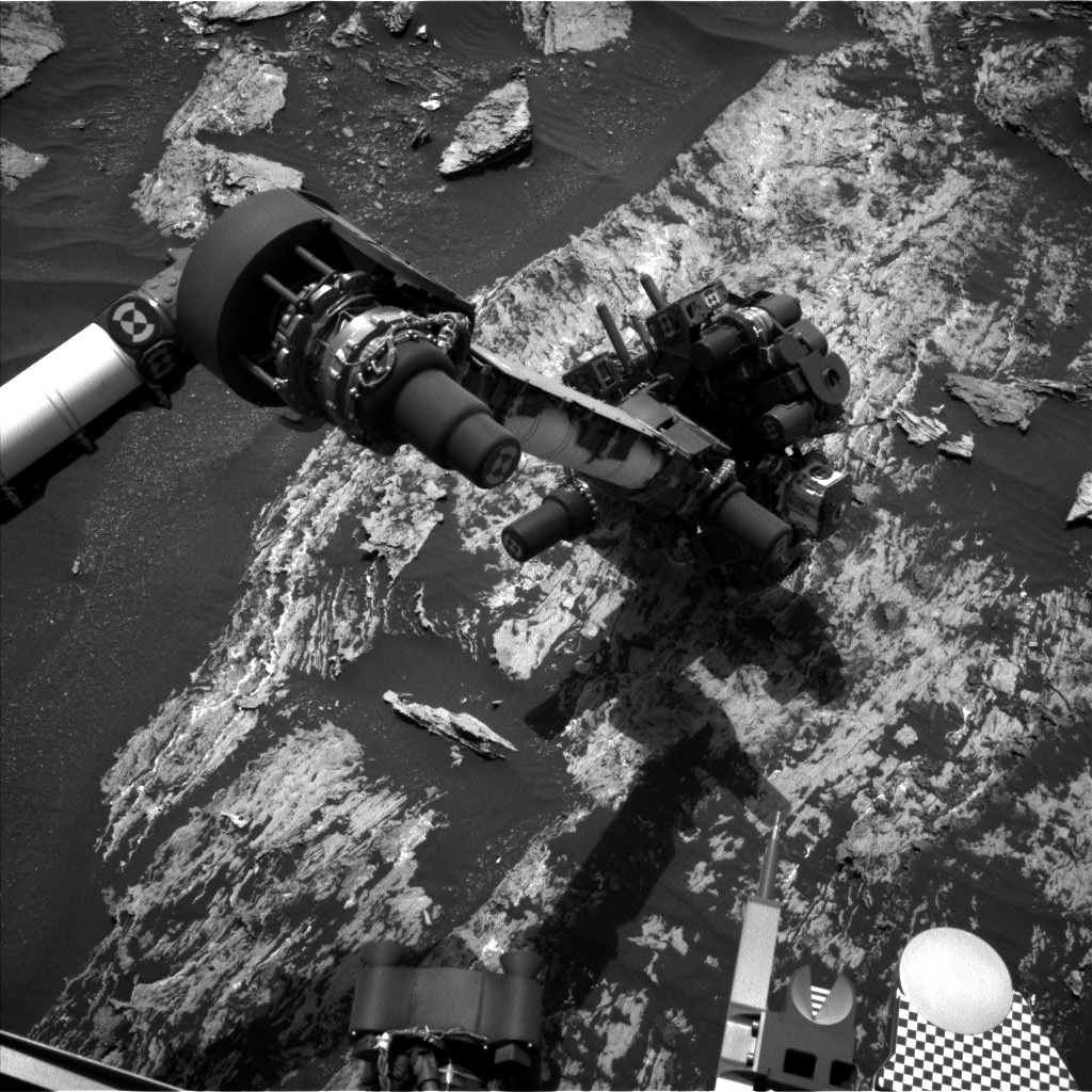Nasa's Mars rover Curiosity acquired this image using its Left Navigation Camera on Sol 1685, at drive 3050, site number 62