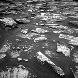 Nasa's Mars rover Curiosity acquired this image using its Left Navigation Camera on Sol 1685, at drive 3068, site number 62