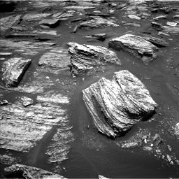 Nasa's Mars rover Curiosity acquired this image using its Left Navigation Camera on Sol 1685, at drive 3086, site number 62