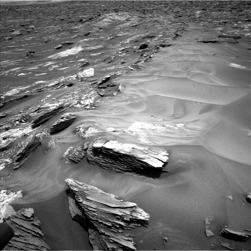 NASA's Mars rover Curiosity acquired this image using its Left Navigation Camera (Navcams) on Sol 1685