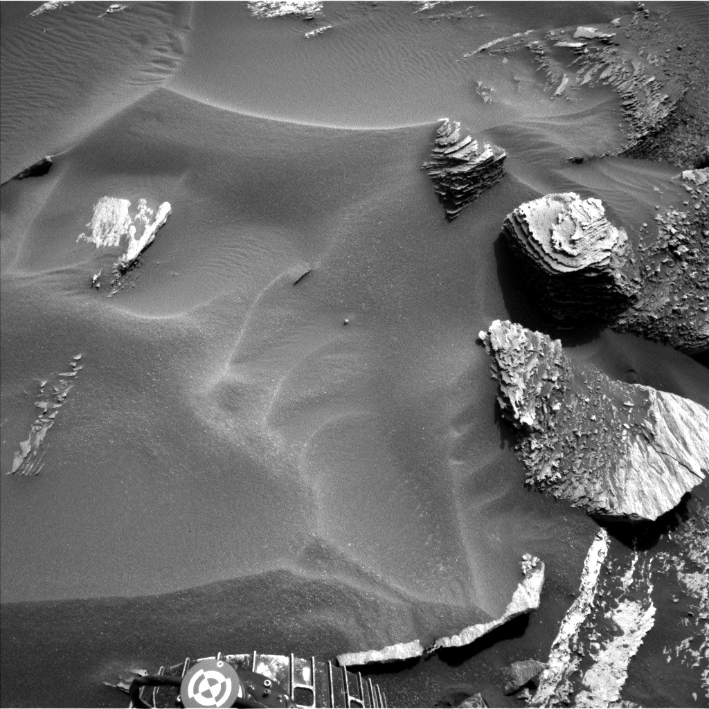 Nasa's Mars rover Curiosity acquired this image using its Left Navigation Camera on Sol 1685, at drive 3188, site number 62
