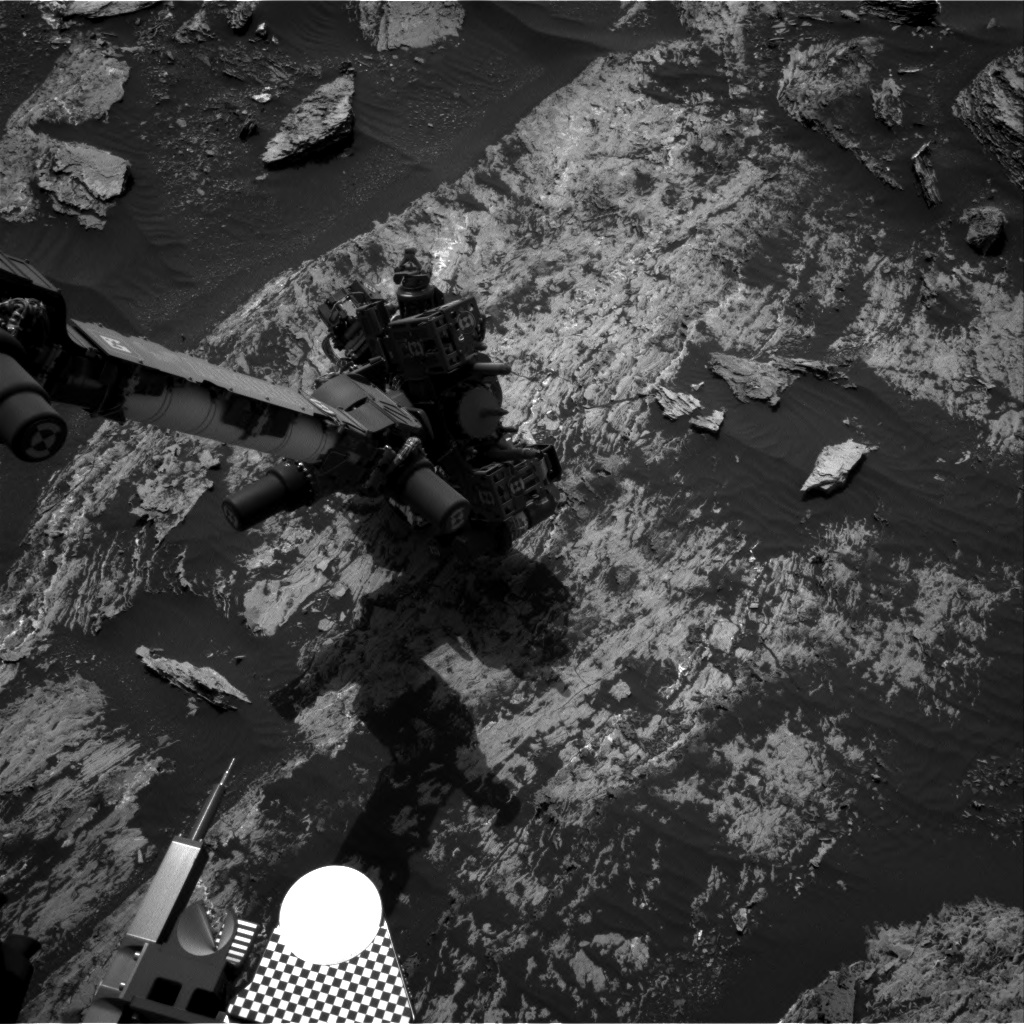 Nasa's Mars rover Curiosity acquired this image using its Right Navigation Camera on Sol 1685, at drive 3050, site number 62