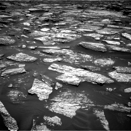 Nasa's Mars rover Curiosity acquired this image using its Right Navigation Camera on Sol 1685, at drive 3062, site number 62