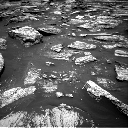 NASA's Mars rover Curiosity acquired this image using its Right Navigation Cameras (Navcams) on Sol 1685