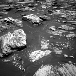 Nasa's Mars rover Curiosity acquired this image using its Right Navigation Camera on Sol 1685, at drive 3080, site number 62
