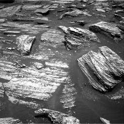 Nasa's Mars rover Curiosity acquired this image using its Right Navigation Camera on Sol 1685, at drive 3092, site number 62