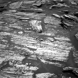 Nasa's Mars rover Curiosity acquired this image using its Right Navigation Camera on Sol 1685, at drive 3098, site number 62