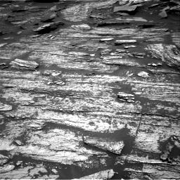 Nasa's Mars rover Curiosity acquired this image using its Right Navigation Camera on Sol 1685, at drive 3110, site number 62
