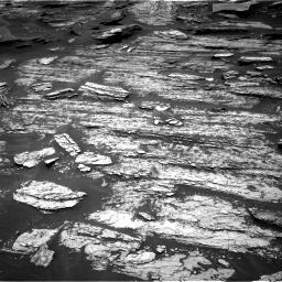 Nasa's Mars rover Curiosity acquired this image using its Right Navigation Camera on Sol 1685, at drive 3116, site number 62