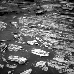 Nasa's Mars rover Curiosity acquired this image using its Right Navigation Camera on Sol 1685, at drive 3122, site number 62