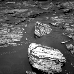 Nasa's Mars rover Curiosity acquired this image using its Right Navigation Camera on Sol 1685, at drive 3140, site number 62