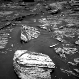 Nasa's Mars rover Curiosity acquired this image using its Right Navigation Camera on Sol 1685, at drive 3146, site number 62
