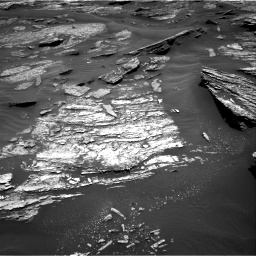 Nasa's Mars rover Curiosity acquired this image using its Right Navigation Camera on Sol 1685, at drive 3158, site number 62
