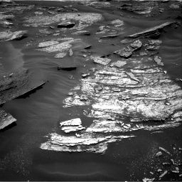 Nasa's Mars rover Curiosity acquired this image using its Right Navigation Camera on Sol 1685, at drive 3164, site number 62