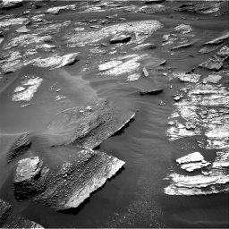 Nasa's Mars rover Curiosity acquired this image using its Right Navigation Camera on Sol 1685, at drive 3170, site number 62