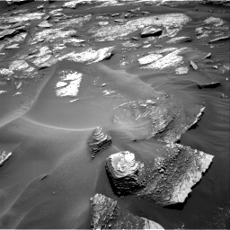 Nasa's Mars rover Curiosity acquired this image using its Right Navigation Camera on Sol 1685, at drive 3176, site number 62
