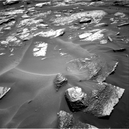 Nasa's Mars rover Curiosity acquired this image using its Right Navigation Camera on Sol 1685, at drive 3182, site number 62