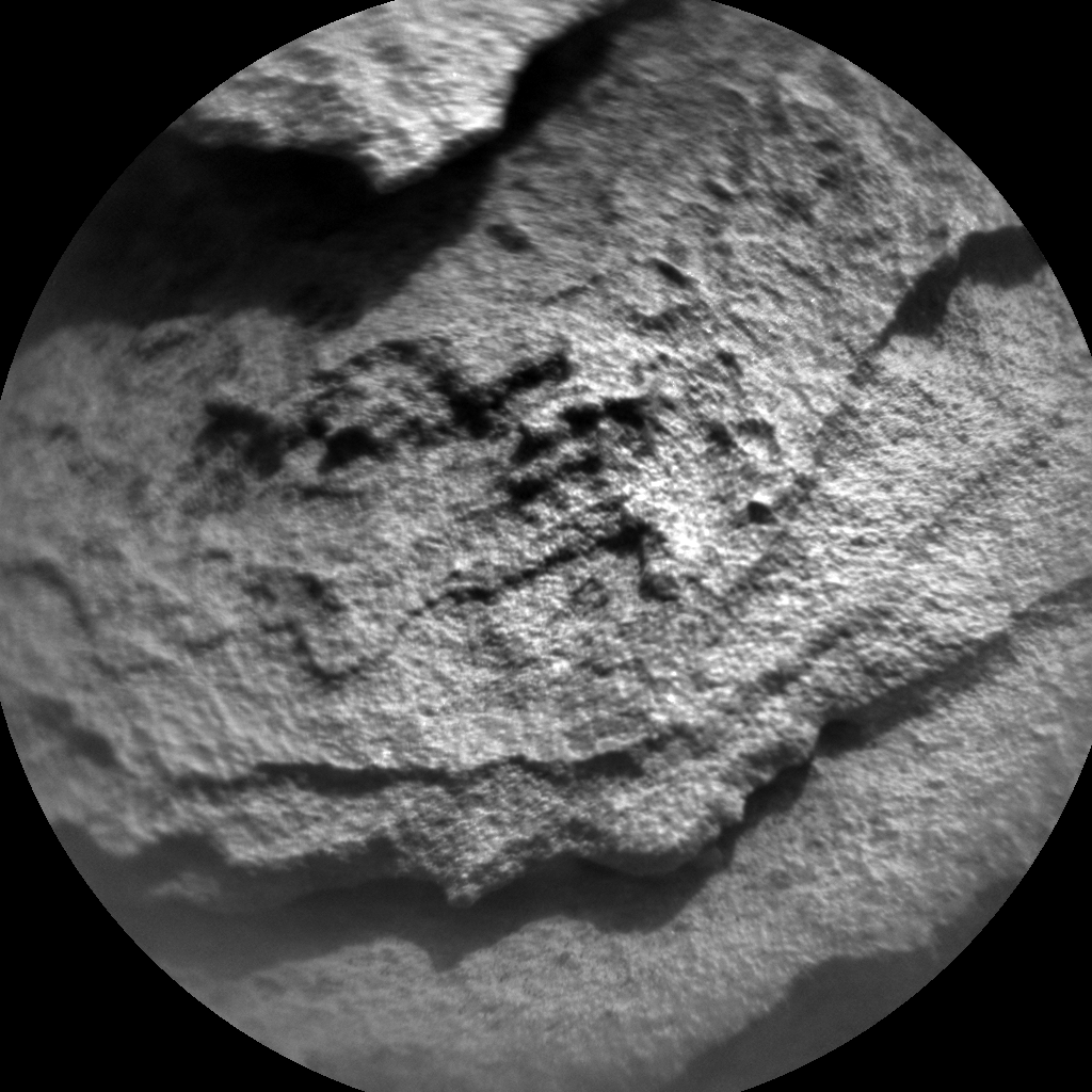 Nasa's Mars rover Curiosity acquired this image using its Chemistry & Camera (ChemCam) on Sol 1685, at drive 3188, site number 62