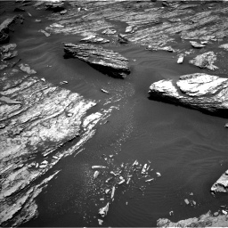 Nasa's Mars rover Curiosity acquired this image using its Left Navigation Camera on Sol 1686, at drive 3206, site number 62