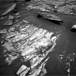 Nasa's Mars rover Curiosity acquired this image using its Left Navigation Camera on Sol 1686, at drive 3212, site number 62