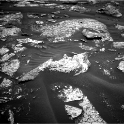 Nasa's Mars rover Curiosity acquired this image using its Left Navigation Camera on Sol 1686, at drive 3248, site number 62