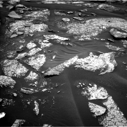 Nasa's Mars rover Curiosity acquired this image using its Left Navigation Camera on Sol 1686, at drive 3254, site number 62