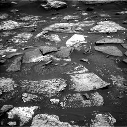 Nasa's Mars rover Curiosity acquired this image using its Left Navigation Camera on Sol 1686, at drive 3308, site number 62