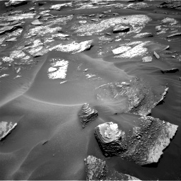 Nasa's Mars rover Curiosity acquired this image using its Right Navigation Camera on Sol 1686, at drive 3188, site number 62
