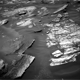 Nasa's Mars rover Curiosity acquired this image using its Right Navigation Camera on Sol 1686, at drive 3194, site number 62