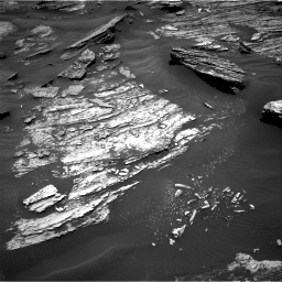 Nasa's Mars rover Curiosity acquired this image using its Right Navigation Camera on Sol 1686, at drive 3200, site number 62
