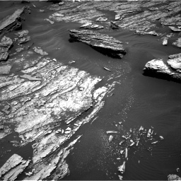 Nasa's Mars rover Curiosity acquired this image using its Right Navigation Camera on Sol 1686, at drive 3212, site number 62