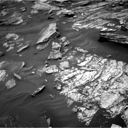 Nasa's Mars rover Curiosity acquired this image using its Right Navigation Camera on Sol 1686, at drive 3224, site number 62