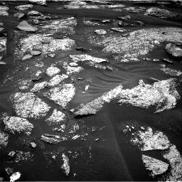 Nasa's Mars rover Curiosity acquired this image using its Right Navigation Camera on Sol 1686, at drive 3266, site number 62