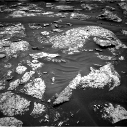 Nasa's Mars rover Curiosity acquired this image using its Right Navigation Camera on Sol 1686, at drive 3278, site number 62