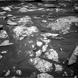 Nasa's Mars rover Curiosity acquired this image using its Right Navigation Camera on Sol 1686, at drive 3284, site number 62