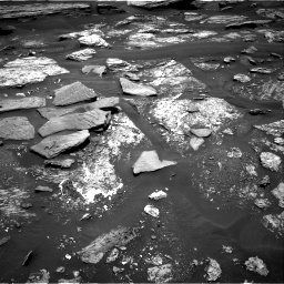 Nasa's Mars rover Curiosity acquired this image using its Right Navigation Camera on Sol 1686, at drive 3290, site number 62