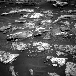 Nasa's Mars rover Curiosity acquired this image using its Right Navigation Camera on Sol 1686, at drive 3320, site number 62