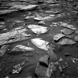 NASA's Mars rover Curiosity acquired this image using its Left Navigation Camera (Navcams) on Sol 1689
