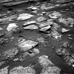 Nasa's Mars rover Curiosity acquired this image using its Right Navigation Camera on Sol 1689, at drive 3362, site number 62