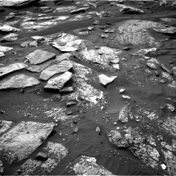 Nasa's Mars rover Curiosity acquired this image using its Right Navigation Camera on Sol 1689, at drive 3380, site number 62